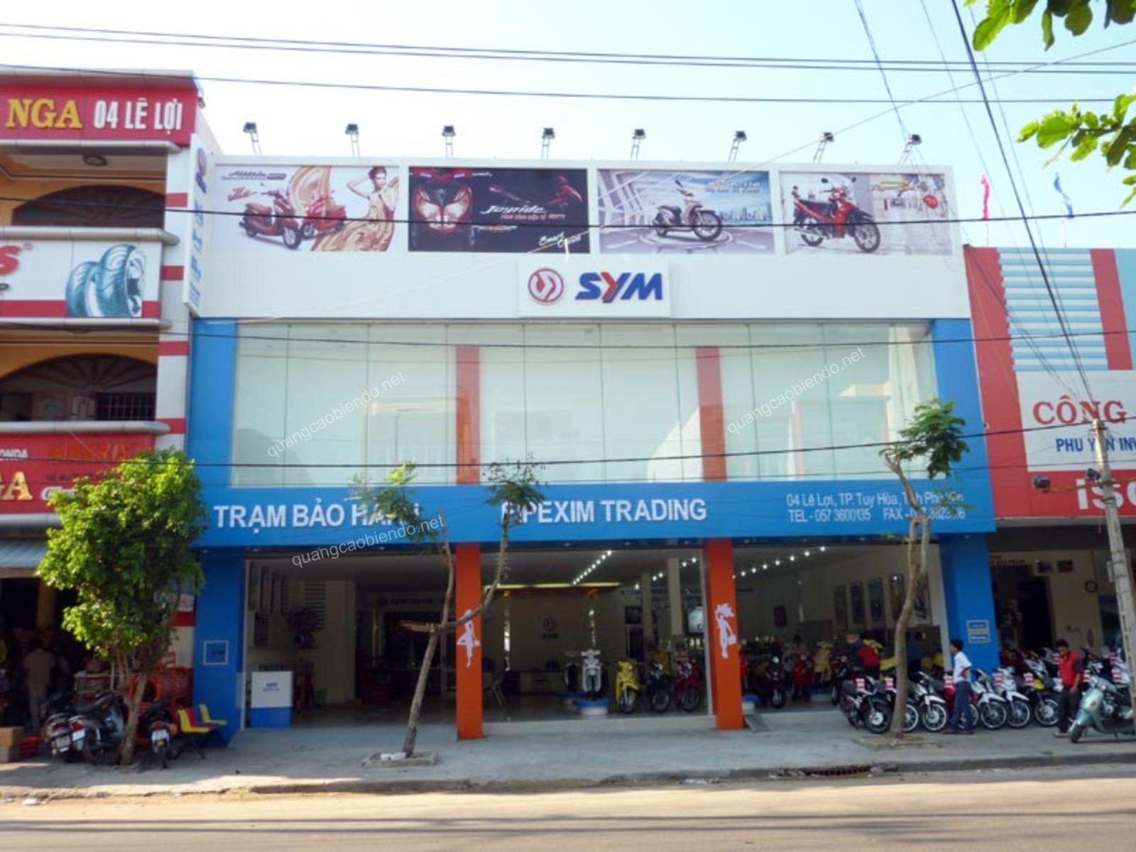Ốp bảng hiệu ALu ở Đà Nẵng
